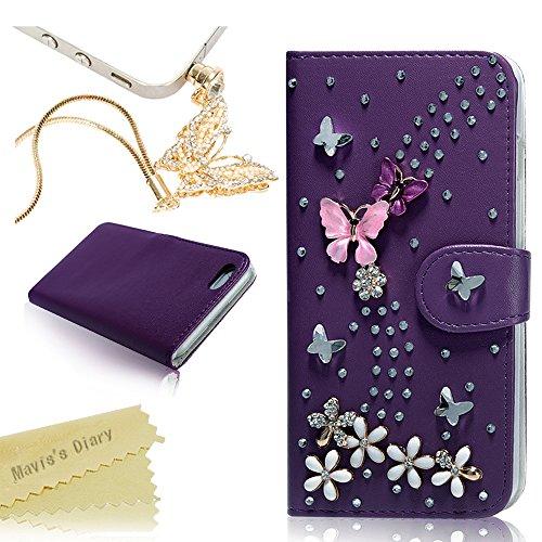 Maviss Diary Handmade Butterfly Protective