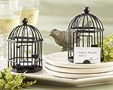Wedding Favors Love Songs Birdcage Tea Light Place Card Holder