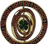 Triple Spinner (with 4 Leaf Clover in center) Poker Weight