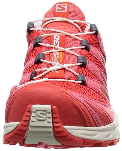 Salomon Xa Pro 3d Dames Trail Loopschoenen Rood / Wit / Oranje