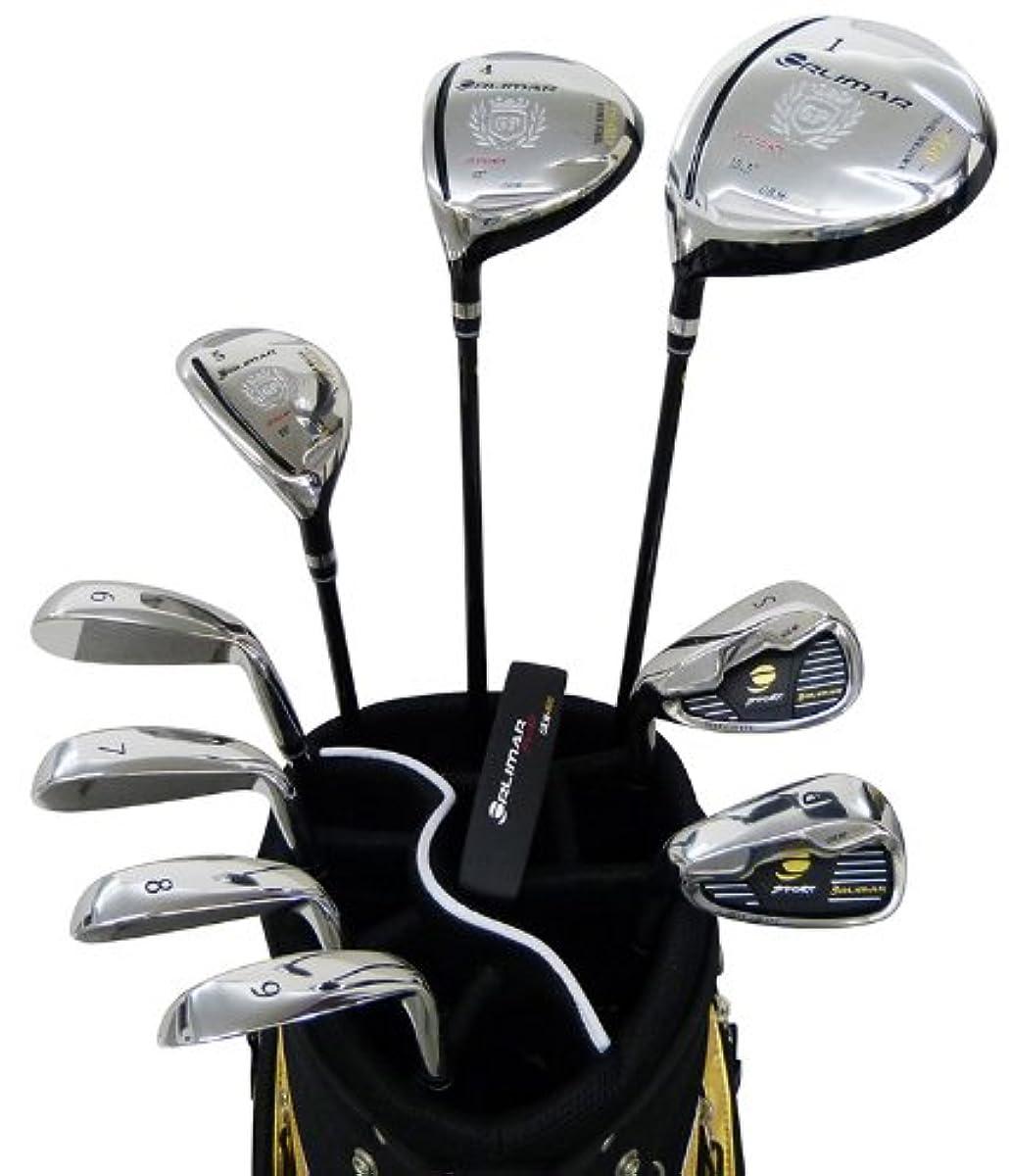 [해외] ORLIMAR(오리마) ORM-800 맨즈 골프 풀 세트 스타터 세트 레프티(왼손잡이)― 【왼쪽용】 SR 9퍼터입 캐디화이트 첨부