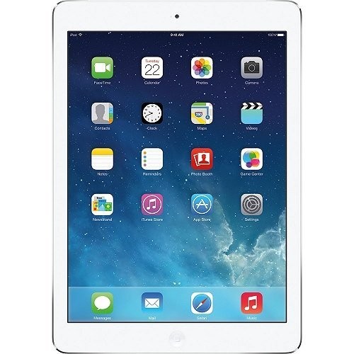 Apple iPad Air A1474 (32 GB, Wi-Fi, White with Silver) (Renewed) (Ipad 4 32gb Wifi White)