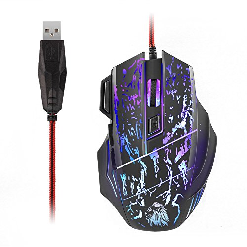 GASKY-Professional-Gaming-Mouse-Ergonomic-Wired-Mouse-6-Buttons-and-7-Colors-Breathing-Light-4-DPI-Levels1000160024003200