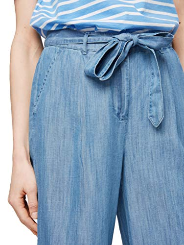 Donna 50 taglia 44 10110 Tom Produttore Tailor Blue Blu nos Lyocell Denim Pantaloni Culotte Pants n6qR7w1n