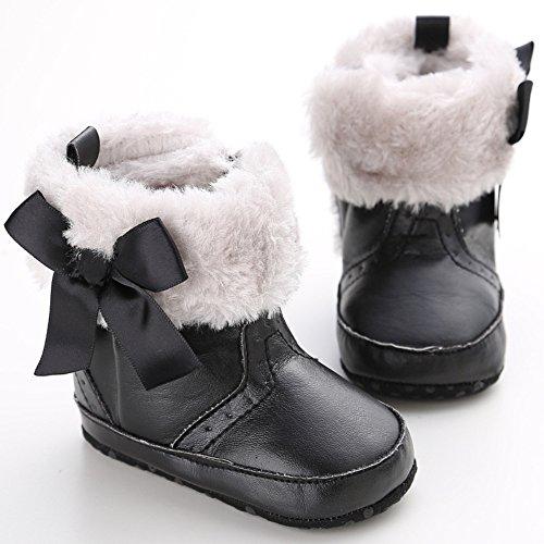Leap Frog  Mid Culf Snow Boots, Baby Mädchen Krabbelschuhe & Puschen Schwarz