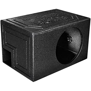 Q Power QBOMB12VL SINGLE Single 12-Inch Side Ported Speaker Box with Durable Bed Liner  sc 1 st  Amazon.com & Amazon.com: BBox E12SV Single 12