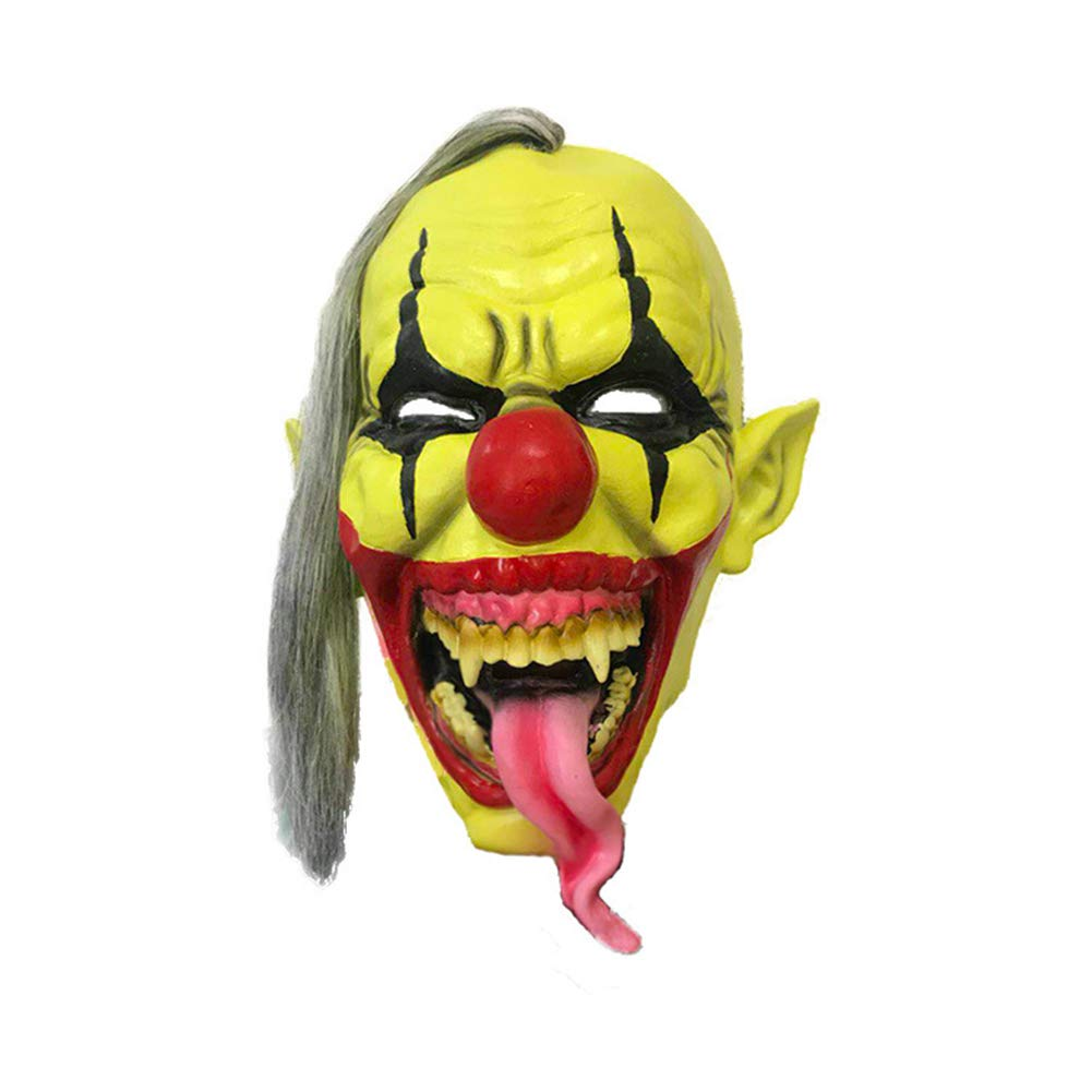 Xuxuou 1 Pieza Máscara de Terror Halloween Fiesta de Cosplay de Carnaval: Amazon.es: Juguetes y juegos