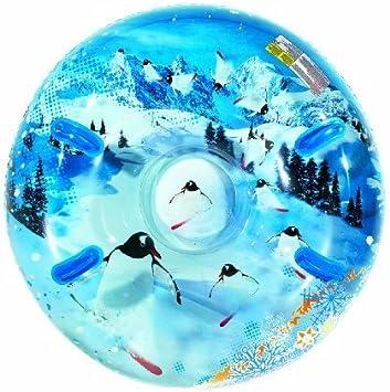 Amazon.com: Aqua Leis - Tubo de nieve hinchable redondo para ...