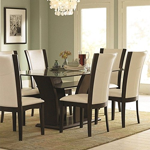 Glass Top Dining Room Table Sets - Glass-topped-dining-room-tables