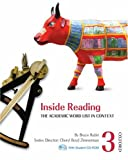img - for Inside Reading 3 Student Book Pack: The Academic Word List in Context book / textbook / text book