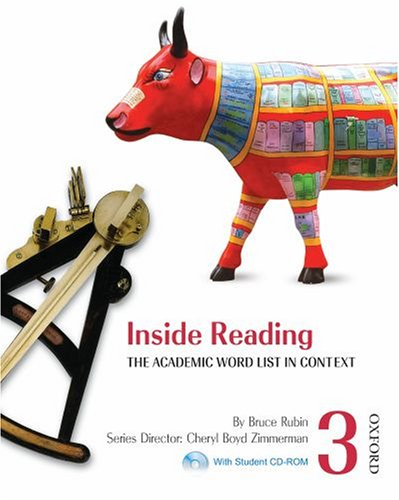 Inside Reading 3 Student Book Pack: The Academic Word List in Context