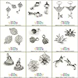 5 PCS Antique Silver Tone Jewelry Making Charms Findings Jewellery Charme Supply Supplies Lots Bulk Wholesale Y0828 Unicorn