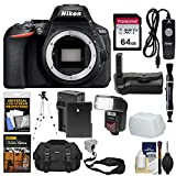 Nikon D5600 Wi-Fi Digital SLR Camera Body with 64GB Card + Case + Flash + Battery & Charger + Grip + Tripod + Remote + Kit Review