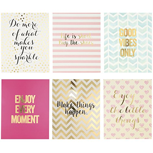[Sparkle Print Set] (Inspirational Wall Decor)