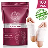 100 Pcs Premium Foot Pads I All Natural Foot Patches - Improves Metabolism