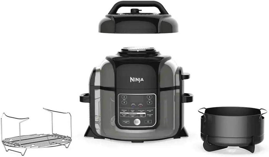 Ninja Foodi OP305 6.5 Quart TenderCrisp Pressure Cooker - Black/Gray