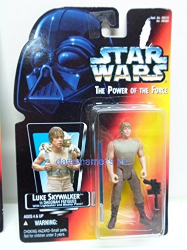 (Qiyun Star Wars Power of The Force 2 Kenner Red Card Luke Skywalker Dagobah 1 Short 076281695884)