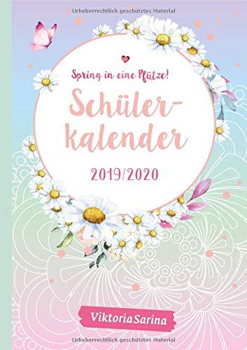 Spring In Eine Pfütze  Schülerkalender 2019 2020