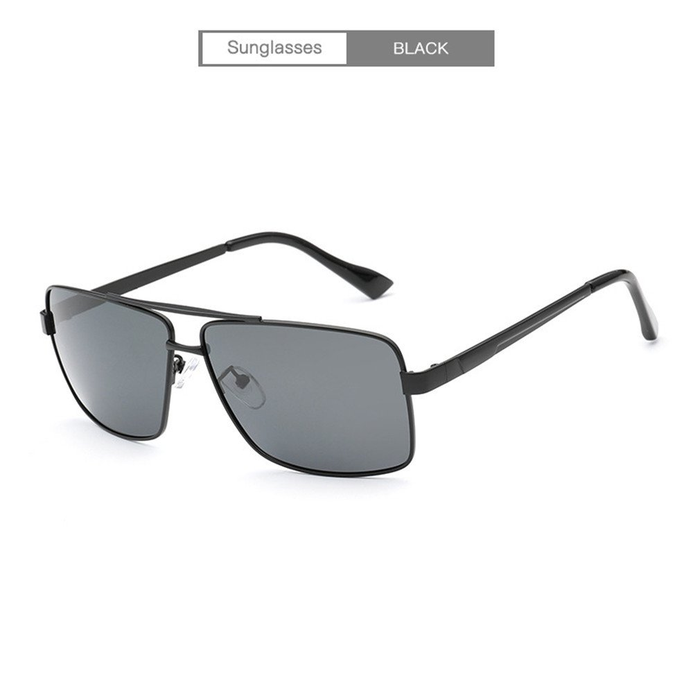 b900f7ad7a00 Black RFVBNM Sunglasses Men and Women Trend Trend Trend Sunglasses  Personality Outdoor Sunglasses with UV Predection Polarized Fashion  Sunglasses Metal ...
