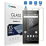 Sony Xperia Z5 Premium Screen Protector [Tempered Glass][Bubble-Free], Popsky Ultra Clear 0.26MM 9H Hardness High Definition Scratch Proof Tempered Glass Screen Protector