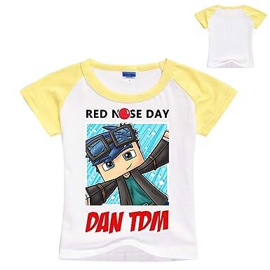 98e52f7c7471 Lanminer T-Shirt à Manches Courtes pour Enfant Roblox Casual T-Shirt à  Manches Courtes T-Shirt pour Enfants Comfort Sleeve Convient aux Garçons et  aux ...