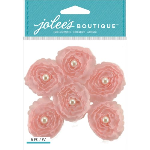 Jolee's Boutique Dimensional Stickers, Pink Small Florals ()