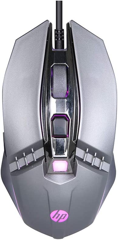 MOUSE GAMER HP CHUMBO USB, LED MULTICORES, 2400 DPI - M270
