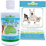 SUMMER SALE! 32oz Liquid Glucosamine with Chondroitin & MSM Jumping Joint and Hip Supplement for Large & Small Dogs - FREE Arthritis Pain Support Dog Health Guide