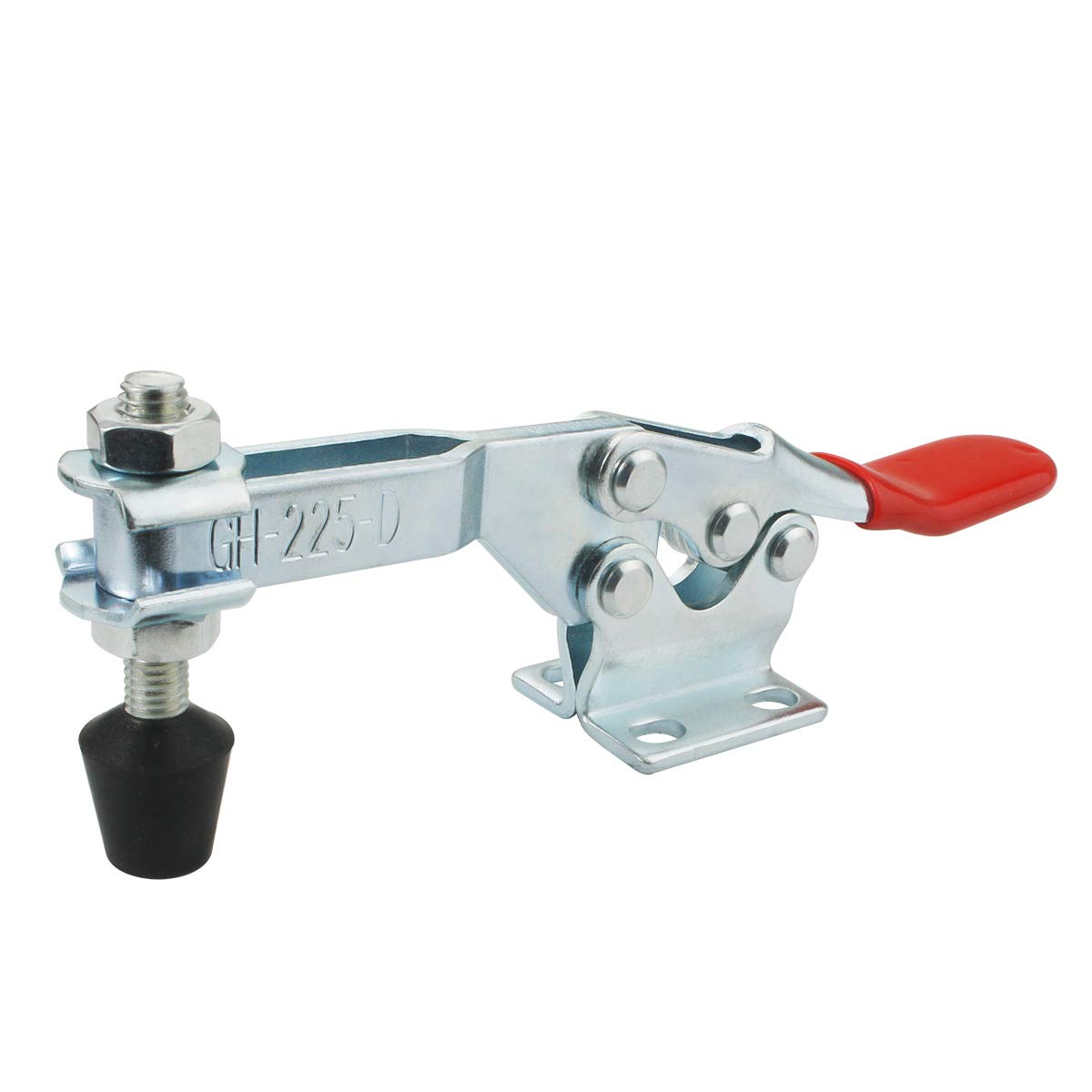 BNYZWOT 500lbs Holding Capacity Toggle Clamps Horizontal Quick-Release Handle Toggle Clamp 225D 2Pcs