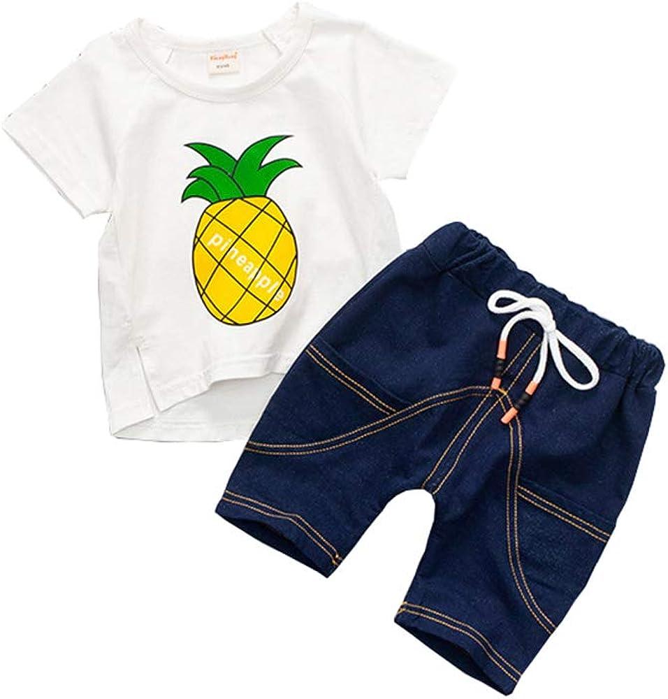 Summer Boys Clothing Sets Children Cartoon Shorts Sets Kids Boys Tracksuit Clothes