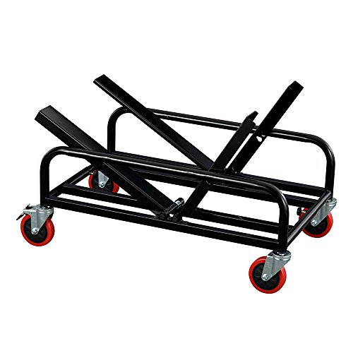 Norwood Commercial Furniture  Universal Dolly for Sled Base Stack Chairs, Black, NOR-FEI3034-SO