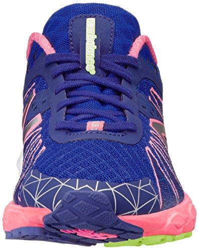 888098239911 - New Balance Women's W890 Neutral Light Running Shoe,Blue/Pink,11 B US carousel main 3