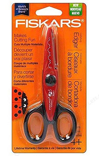 FISKARS Edgers Scissors Ladybug Theme