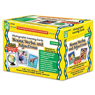 CDPD44045 - Carson Dellosa Photographic Learning Cards Boxed Set