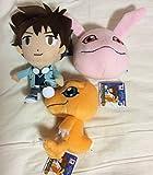 Digimon Adventure tri. Korotto Manmaru Plush Doll Stuffed vol.1 - 3 pack set [ size About 14cm ]