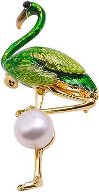 Mujeres Moda Agua dulce Perla Verde Jade Stud /& Colgantes Pendientes Fiesta Joyas
