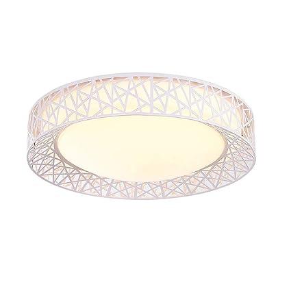 Lámpara de Techo de Cristal Luces De Techo De Acrílico LED ...