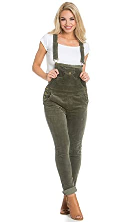091d0d94421 Image Unavailable. Image not available for. Color  Front Pocket Corduroy  Overalls ...