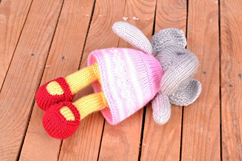 Knitted Handmade Soft Interior Toy Gift Ideas