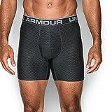 Under Armour Men's Original Series Printed Boxerjock, Black/Steel, Large