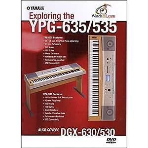 Yamaha YPG-635/535 WATCH & LEARN DVD