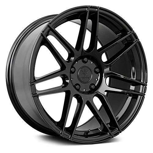 Verde V21 Reflex Custom Wheel - 19x9, 38 Offset, 5x114.3 Bolt Pattern, 74.1mm Hub - Gloss Black Rim