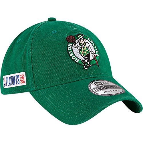 Boston Celtics New Era 2018 NBA Playoffs 9TWENTY Adjustable Hat Kelly - Boston Celtics New Era Hats
