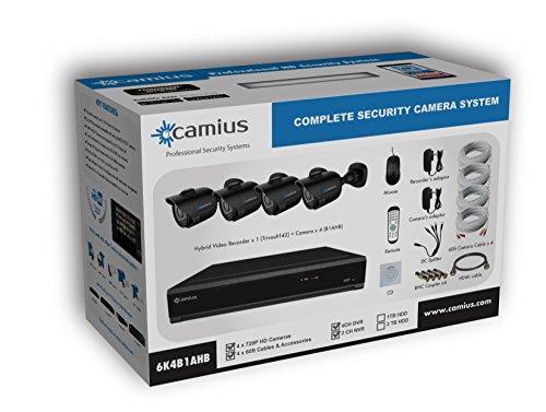 CAMIUS Channel Security Outdoor Cameras