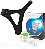 Extended Anti Snoring Chin Strap- Natural Effective Snoring Solution and Anti Snoring Devices - Snoring Chin Strap, Anti Snoring Nose Vents, Nasal Dilators- Stop Snoring Sleep Aid for Men & Women
