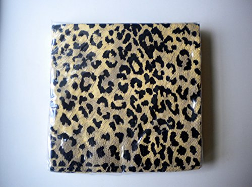 Jaguar Animal Print Cocktail Napkins Set of Two by SBF Gifts