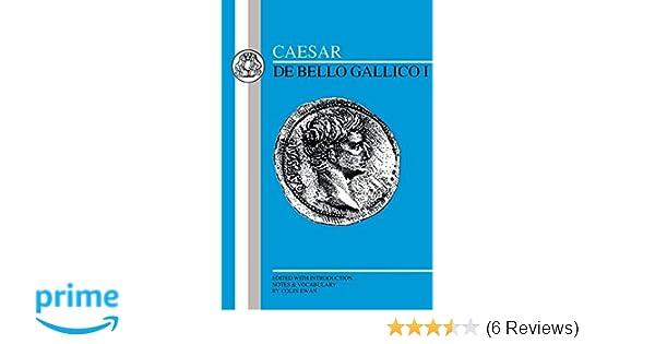 Amazon caesar de bello gallico i latin edition amazon caesar de bello gallico i latin edition 9780862921774 caesar colin ewan books fandeluxe Gallery