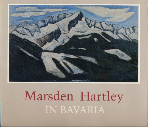 Marsden Hartley in Bavaria for sale  Delivered anywhere in USA