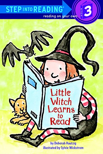 Little Witch Learns to Read (Step into Reading) (Halloween Writing For Kindergarten)