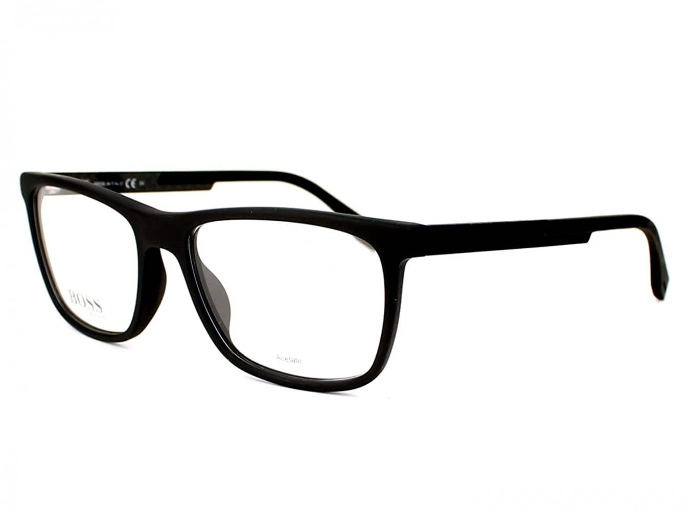 408bdecb7d Amazon.com  Hugo Boss frame (BOSS-0733 KD1) Acetate Matt Black - Carbon   Clothing